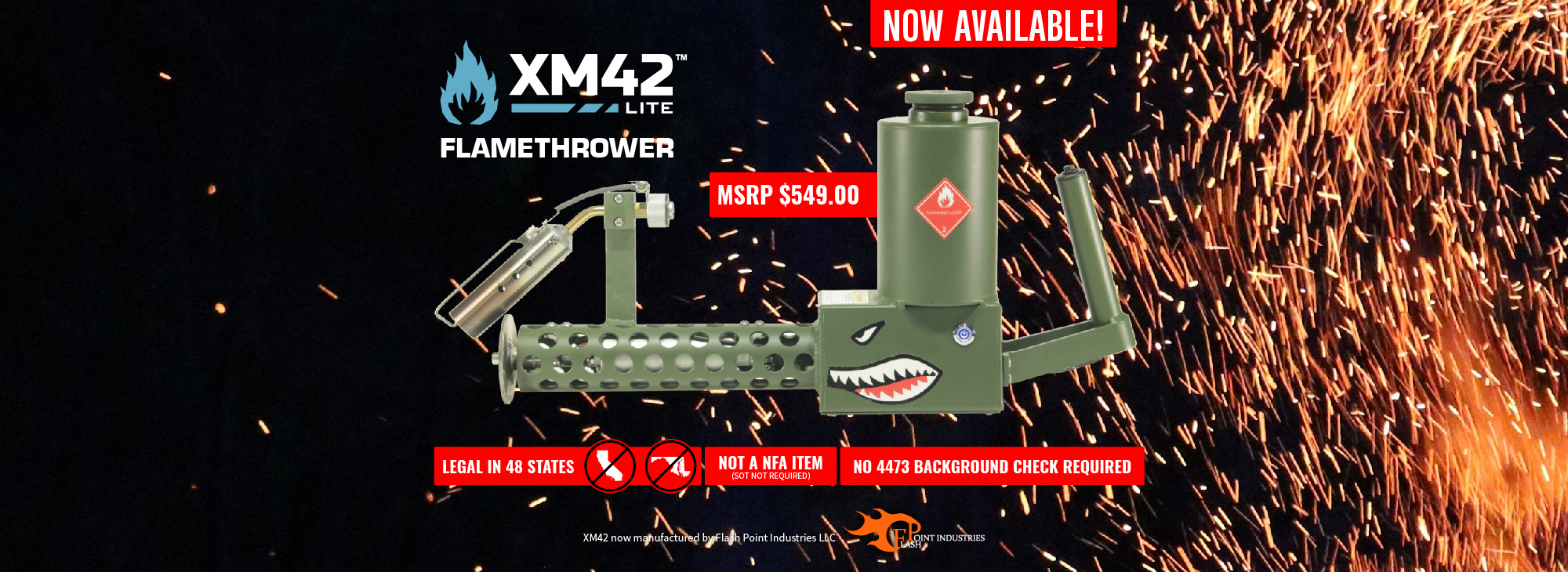 XM42 Lite Now Available