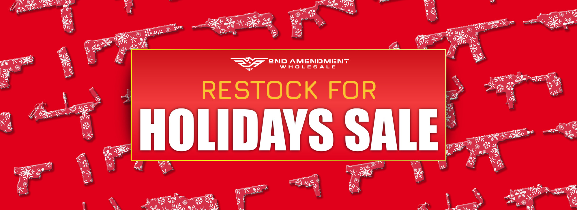 Restock holiday sale