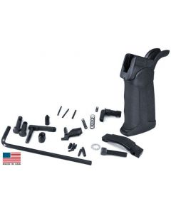 KE Arms AR15 Drop-in Lower Parts Kit - XTech Pistol Grip | Trigger Not Included