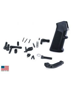 KE Arms AR15 Drop-in Lower Parts Kit - A2 Pistol Grip | Trigger Not Included