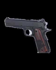 "Dan Wesson Vigil Pistol - Black | .45ACP | 5"" Barrel | 8rd | Wood Grips"
