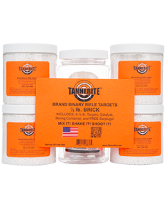 Tannerite 1/2 lb Brick - 4 pack of 1/2 lb Targets