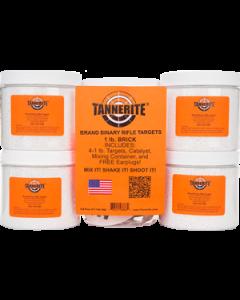 Tannerite 1 lb Brick - 4 pack of 1 lb Targets