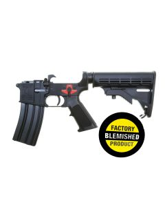 FACTORY BLEM - Franklin Armory BFSIII Equipped M4-BLR Complete AR15 Lower Receiver - Black | Installed BSFIII Trigger | M4 Rifle Buttstock | BLEMISHED, sold As-Is NO RETURNS