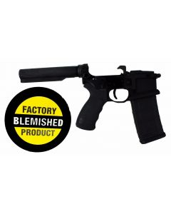 FACTORY BLEM - Franklin Armory BFSIII Equipped LIBERTAS BLR Complete AR15 Lower Receiver - Black | Installed BSFIII Trigger | Carbine Length Buffer Tube | BLEMISHED, sold As-Is NO RETURNS