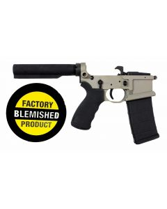 FACTORY BLEM - Franklin Armory BFSIII Equipped LIBERTAS BLR Complete AR15 Lower Receiver - Desert Smoke | Installed BSFIII Trigger | Carbine Length Buffer Tube | BLEMISHED, sold As-Is NO RETURNS
