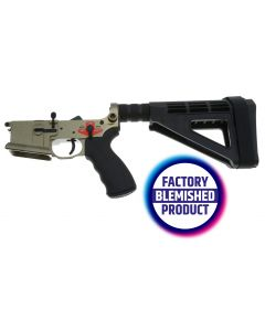 FACTORY BLEM - Franklin Armory BFSIII Equipped SALUS Complete AR15 Pistol Lower Receiver - Desert Smoke | Installed BSFIII Trigger | SBM4 Brace | BLEMISHED, sold As-Is NO RETURNS
