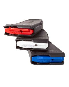 Amend2 AR15 Magazine 5.56 NATO - Black | MOD-2 | 30rd | 3 Pack | With Red, White And Blue Internals