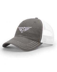 Mesh 2AW Logo Snapback Cap