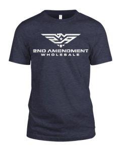 2AW Logo Front Shall Not Infringe Logo Back T-Shirt