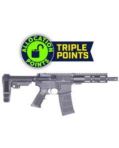 "Andro Corp Industries 300 CQB 8 Forged AR Pistol - Black   300BLK   8"" Barrel   7"" M-LOK Handguard   A2 Flash Hider   SBA3 Pistol Brace"