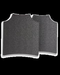 Guard Dog Tactical Level III+ 10X12 AR500 Steel Plate Pair | 8.5 Lbs/Per - Black