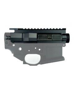 Franklin Armory Billet AR15 Upper Receiver - Black   Includes Forward Assist & Ejection Port Cover