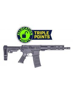 "Andro Corp Industries 556 HALO10.3 Forged AR Pistol - Black   5.56NATO   10.3"" Barrel   9"" M-LOK Handguard   A2 Flash Hider   SBA3 Pistol Brace"