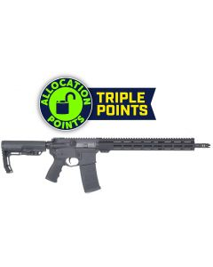 "Andro Corp Industries 556 BRAVO16 MOD 0 Forged AR Rifle - Black | 5.56NATO | 16"" Barrel | 15"" M-LOK Handguard | VG6 Gamma Dual Port Brake | MFT Minimalist Stock"