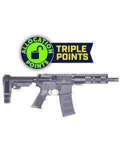 "Andro Corp Industries 556 CQB 8 Forged AR Pistol - Black | 5.56NATO | 8"" Barrel | 7"" M-LOK Handguard | A2 Flash Hider | SBA3 Pistol Brace"
