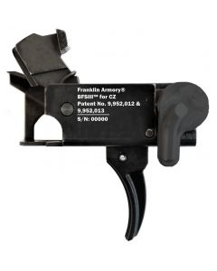 Franklin Armory BFSIII CZ-C1 Binary Firing System III Trigger - For CZ Scorpion | Curved Trigger