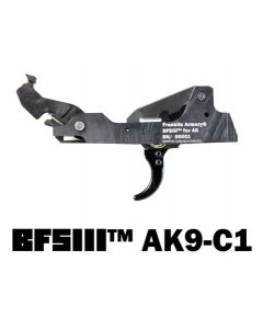 Franklin Armory BFSIII AK9-C1 Binary Firing System III Trigger - For 9mm AK firearms | Curved Trigger