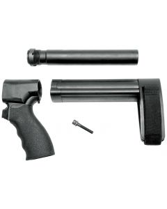 SB Tactical SBL Brace Complete Kit for Shotgun Firearm - Black | Fits Mossberg 590 Shockwave