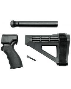 SB Tactical SBM4 Brace Complete Kit for Shotgun Firearm - Black | Fits Mossberg 590 Shockwave