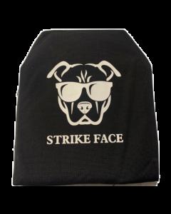 Guard Dog Tactical Trauma Pad/Anti-Spall Sleeve Pair For AR500 Plate | .50 Lbs/Per - Black