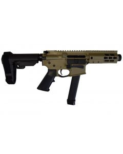 "Brigade MFG BM-9 Forged Aluminum AR Pistol - FDE | 9mm | 5.5"" Barrel 