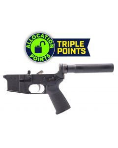 Anderson AM-15 Forged Complete AR Lower - Black | Pistol Buffer Tube