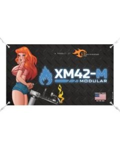 Banner for XM42-M Flamethrower - With Grommets