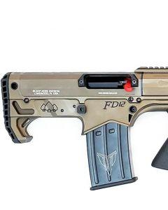 """Black Aces Pro Series Bullpup Pump Shotgun - Bronze   12ga   18.5"""" Barrel   Barrel Shroud"""