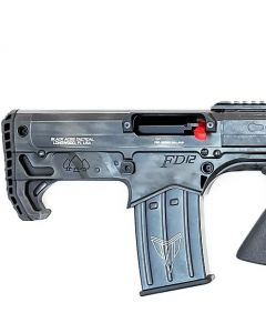 """Black Aces Pro Series Bullpup Pump Shotgun - Distressed OD Green   12ga   18.5"""" Barrel   Barrel Shroud"""