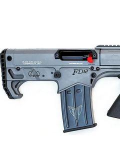 """Black Aces Pro Series Bullpup Pump Shotgun - Gray   12ga   18.5"""" Barrel   Barrel Shroud"""