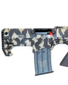 "Black Aces Pro Series Bullpup Pump Shotgun - Tiger Stripe | 12ga | 18.5"" Barrel 