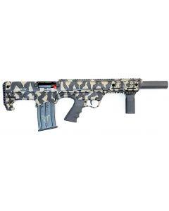 "Black Aces Pro Series Bullpup Semi-Auto Shotgun - Tiger Stripe | 12ga | 18.5"" Barrel | Barrel Shroud"