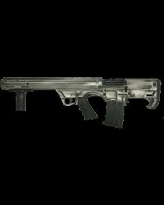 "Black Aces Pro Series Left Hand Bullpup Pump Shotgun - Distressed White | 12ga | 18.5"" Barrel | Barrel Shroud"