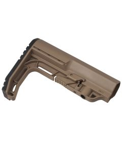 Mission First Tactical Battlelink  Minimalist Commercial Stock - Scorched Dark Earth