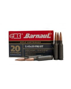 Barnaul 5.45x39 Rifle Ammo - 60 Grain | FMJ-BT | Steel Casing | 500rd Case