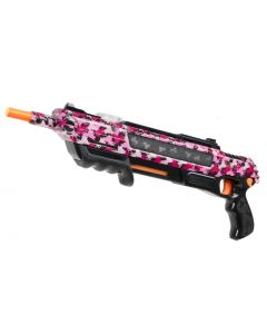 BUG-A-SALT 2.0 Pump Salt Shotgun - Passion Assassin Pink Camofly