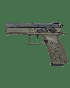 "CZ P-09 Pistol - OD Green | 9mm | 4.54"" Barrel | 19rd | Night Sights"