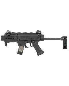"CZ Scorpion EVO 3 S2 Micro Pistol - Black | 9mm | 4.12"" Barrel | 20rd | CZPDW Brace"