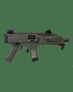 """CZ Scorpion EVO 3 S1 Pistol - OD Green   9mm   7.72"""" Barrel   20rd"""