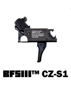 Franklin Armory BFSIII CZ-S1 Binary Firing System III Trigger - For CZ Scorpion | Straight Trigger