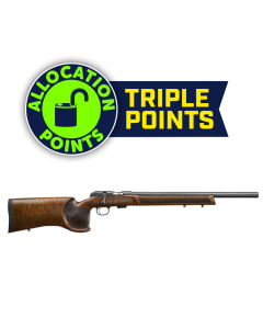 "CZ 457 Varmint Match Target Rifle - Turkish Walnut | .22LR | 20.5"" Barrel 