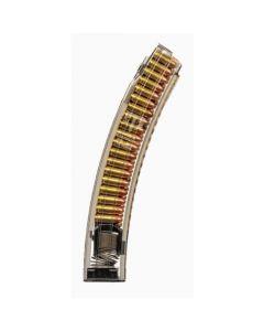 ETS 9mm Magazine - Clear   40rd   FITS CZ Scorpion