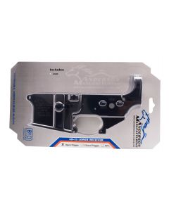 Anderson AM-15 Forged Stripped AR15 Lower Receiver - Black | Retail Packaging