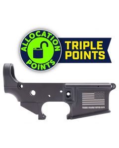 """Anderson AM-15 Forged Stripped AR15 Lower Receiver - Black 