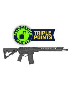"Diamondback Black Gold DB15 AR Rifle - Black | 5.56NATO | 16"" Barrel | 15"" M-LOK V Rail w/ Texture Pads | Magpul K2 Grip | Magpul CTR Stock | DB Flash Hider"