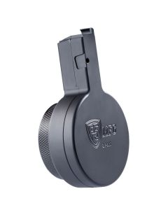 F5 MFG HK-MP5 9mm 50 Round Drum Magazine - Black
