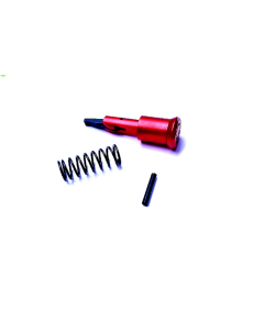 Alien Armory Tactical Anodized Aluminum Forward Assist - Red