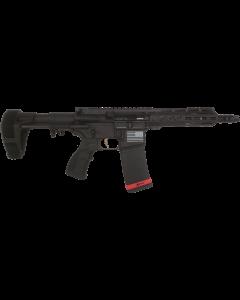 "Fostech Bradley Fighting AR-15 Pistol - Black | 300 BLK | 7.5"" Barrel | 7"" Mach-ll Rails | Installed Forged Upper & Lower Receiver | PDW Brace | Installed Echo-ll Trigger"