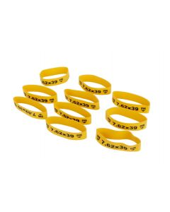 Faxon Firearms Magazine Marker Bands - 7.62x39   Yellow   10 pack